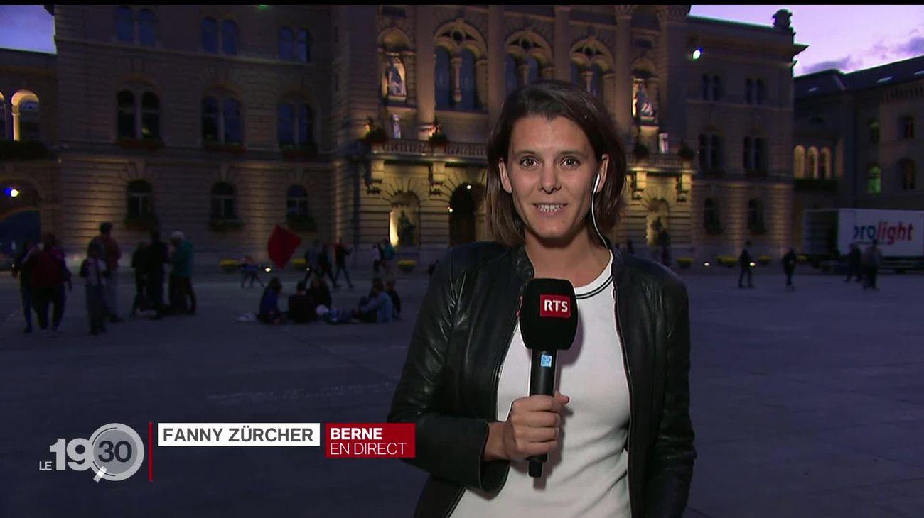 Marche nationale pour le climat à Berne: les précisions de Fanny Zürcher