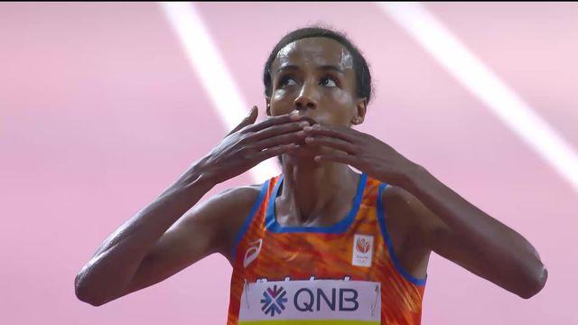 10 000m dames: victoire et titre mondial pour  Hassan (NED) [RTS]