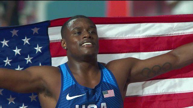 100m messieurs: Coleman (USA) remporte l'or [RTS]