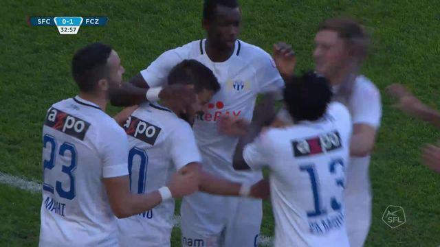 9e journée, Servette - Zurich (0-1): résumé de la rencontre [RTS]