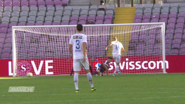 Football: National League, Genève - Zurich (0-1) [RTS]