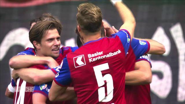 Football: National Bâle - Lucerne (3-0) [RTS]