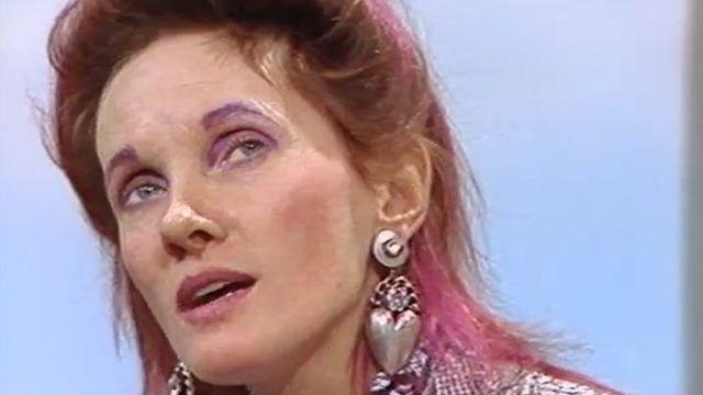 Diane Dufresne en 1986. [RTS]