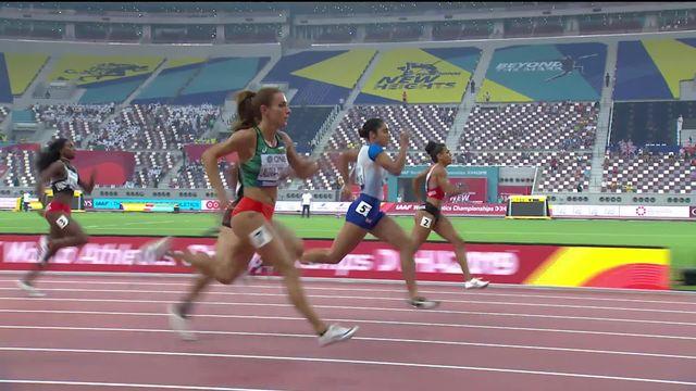 200m dames: Mujinga Kambundji (SUI) se qualifie pour les 1-2 [RTS]