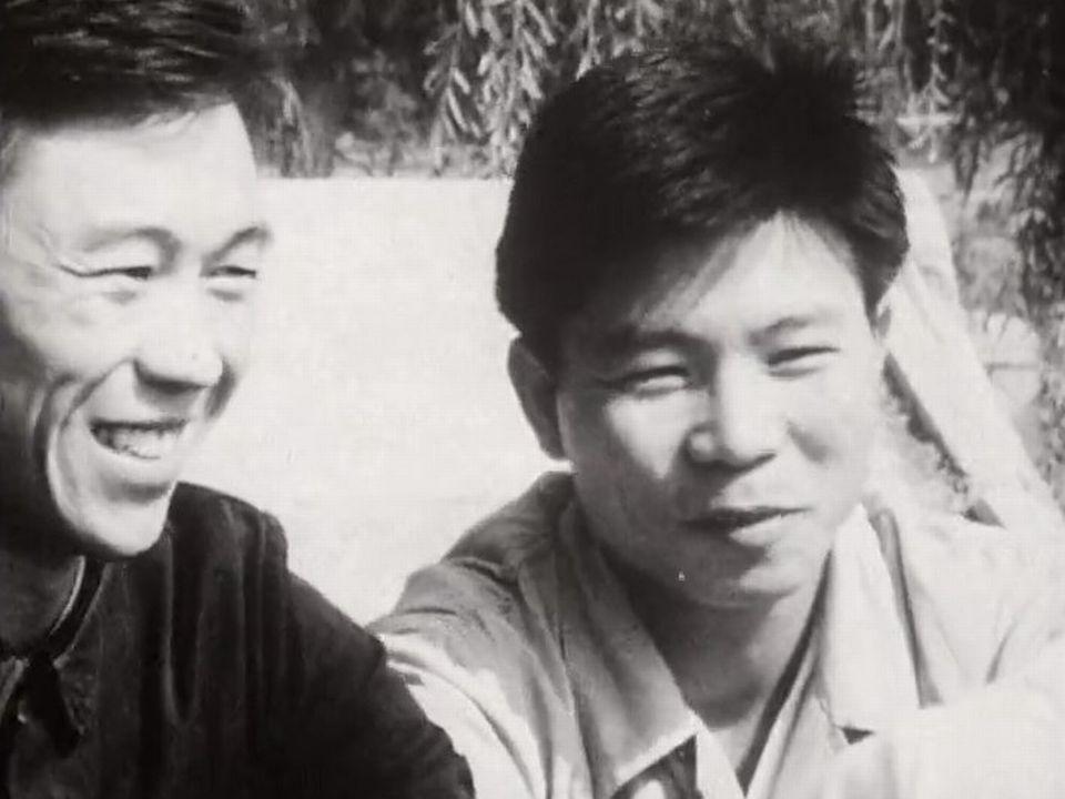 Etudiants chinois étudiant le français, 1967 [RTS]