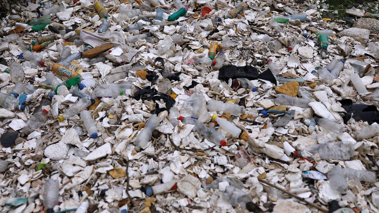 Les produits jetables, quels qu'ils soient, polluent. [Luis Echeverria - Reuters]