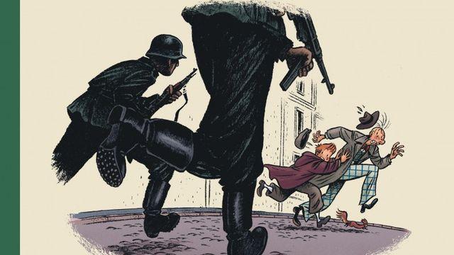 La couverture du Tome 3 de Spirou par Emile Bavo. [dupuis.com]