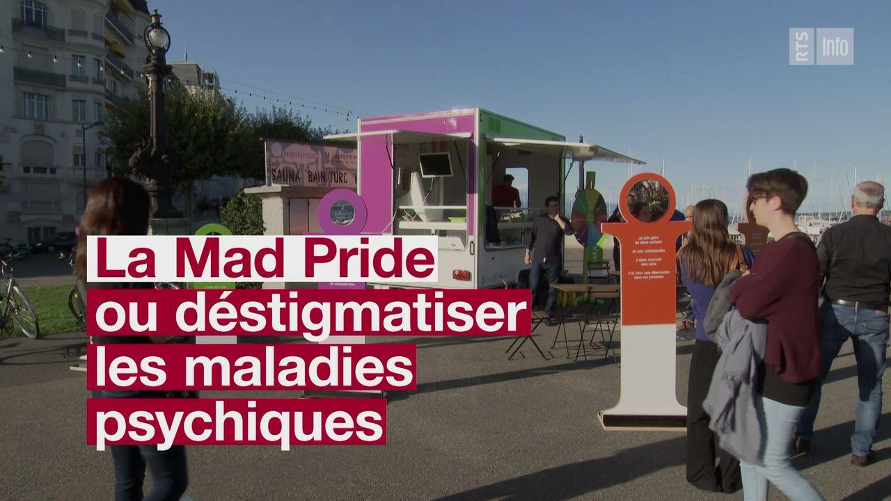 La Mad Pride ou comment déstigmatiser les maladies psychiques [RTS]