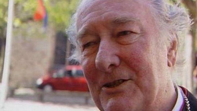 Bernard Genoud, évêque suisse, en 2006. [RTS]