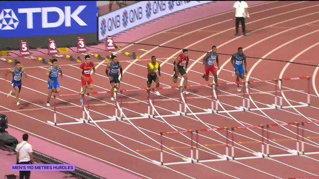110m haies messieurs: pas de finale pour Jason Joseph (SUI) [RTS]