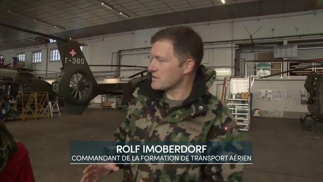 Entretien avec Rolf Imoberdorf, commandant de la formation du transport aérien [RTS]