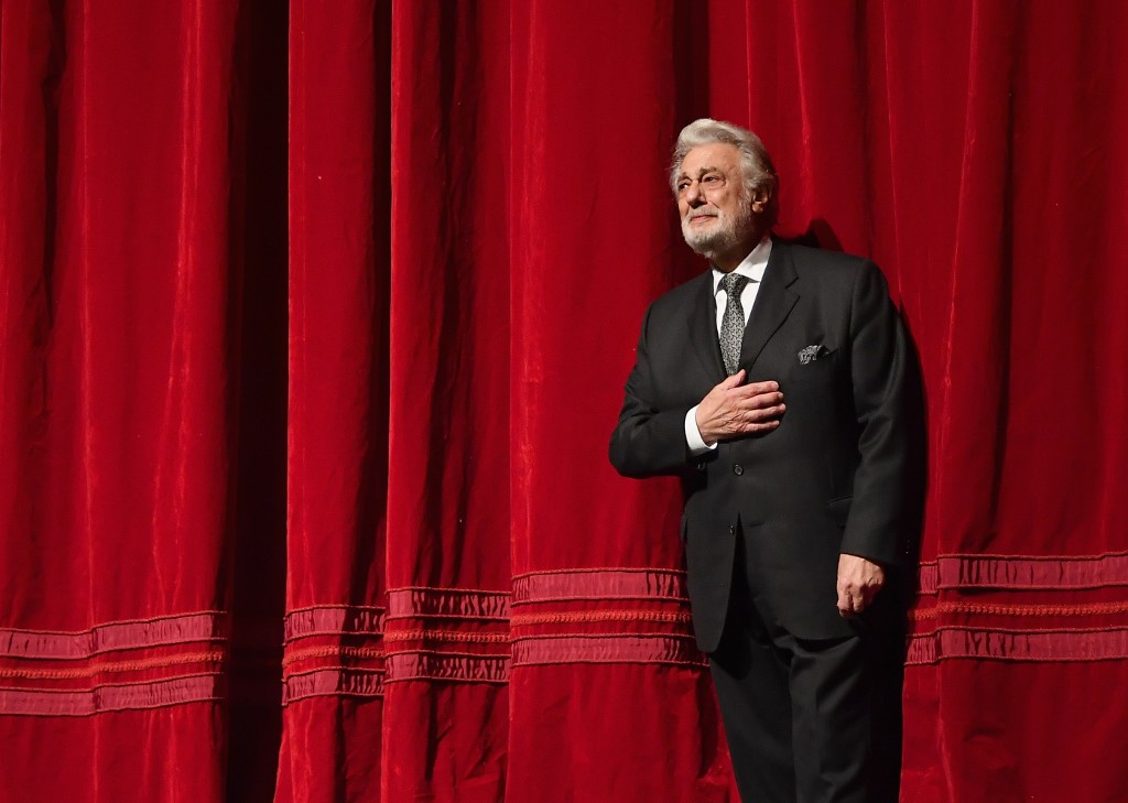 Placido Domingo démissionne de l'opéra de Los Angeles