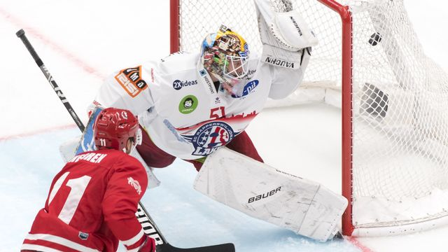 Lausanne grimpe à la 5e place du classement après son succès face à Rapperswil. [Laurent Gilliéron. - Keystone]