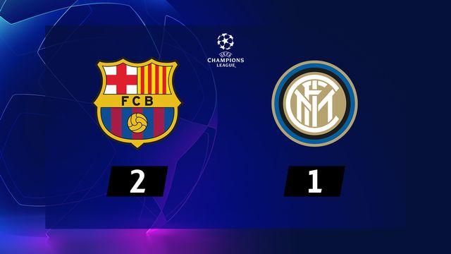 2ème journée, Barcelone - Inter (2-1): résumé de la rencontre