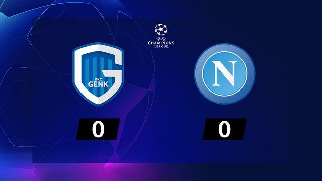 2ème journée, Genk - Naples (0-0): résumé de la rencontre
