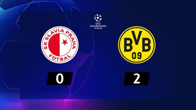 2ème journée, Sl.Prague - B.Dortmund (0-2): résumé de la rencontre