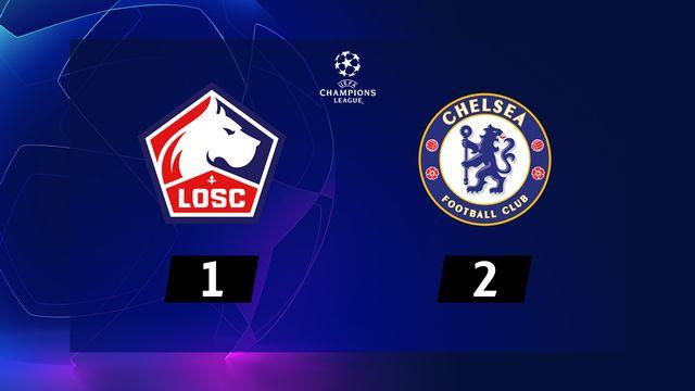 2ème journée, Lille - Chelsea (1-2): résumé de la rencontre
