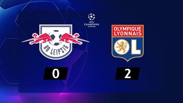 2ème journée, RB Leipzig - Lyon (0-2): résumé de la rencontre