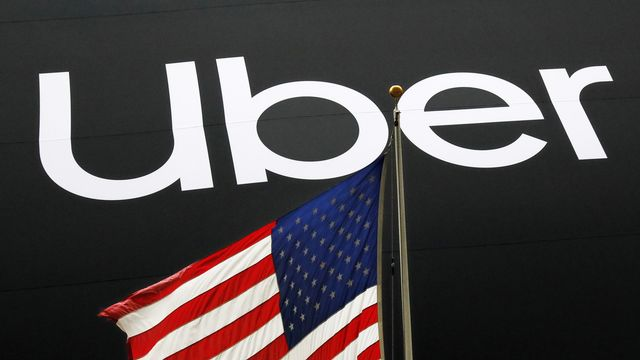 Uber se lance sur le marché du travail temporaire. [Mark Lennihan - KEYSTONE]