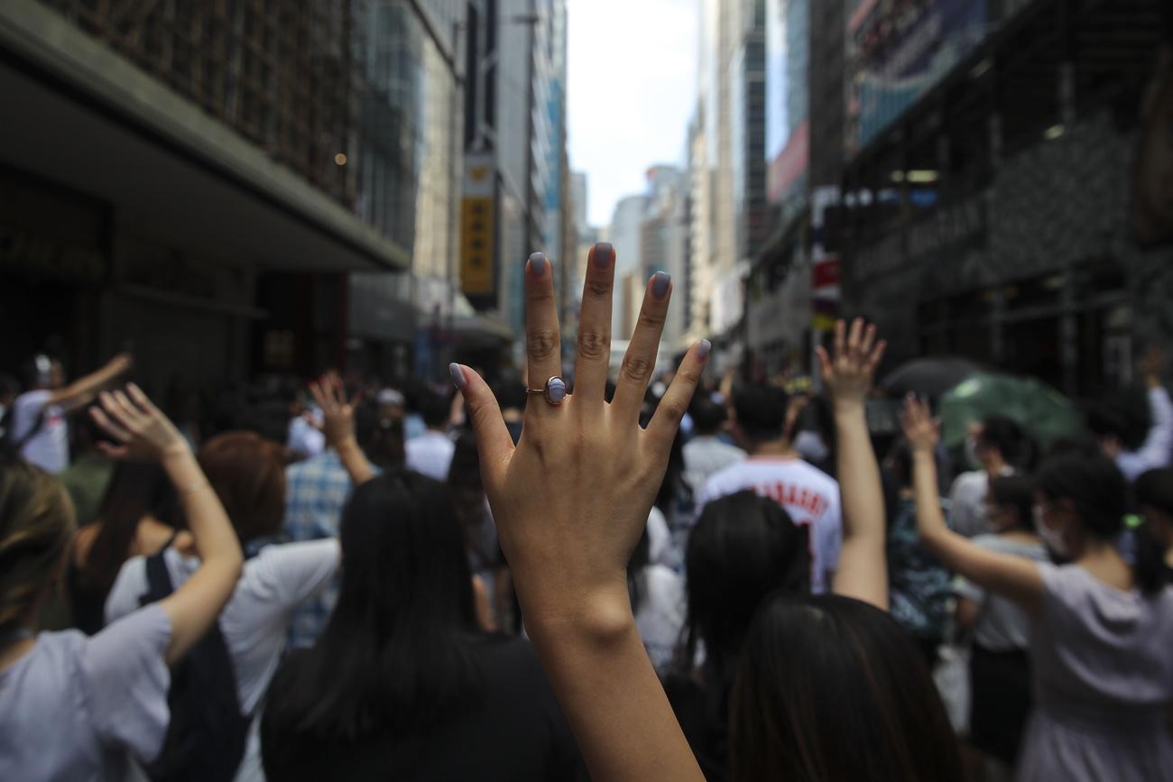 Hongkong: comparution des premiers manifestants ayant bravé la loi anti-masque