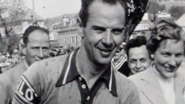 Hugo Koblet et Ferdi Kubler, deux héros du cyclisme.