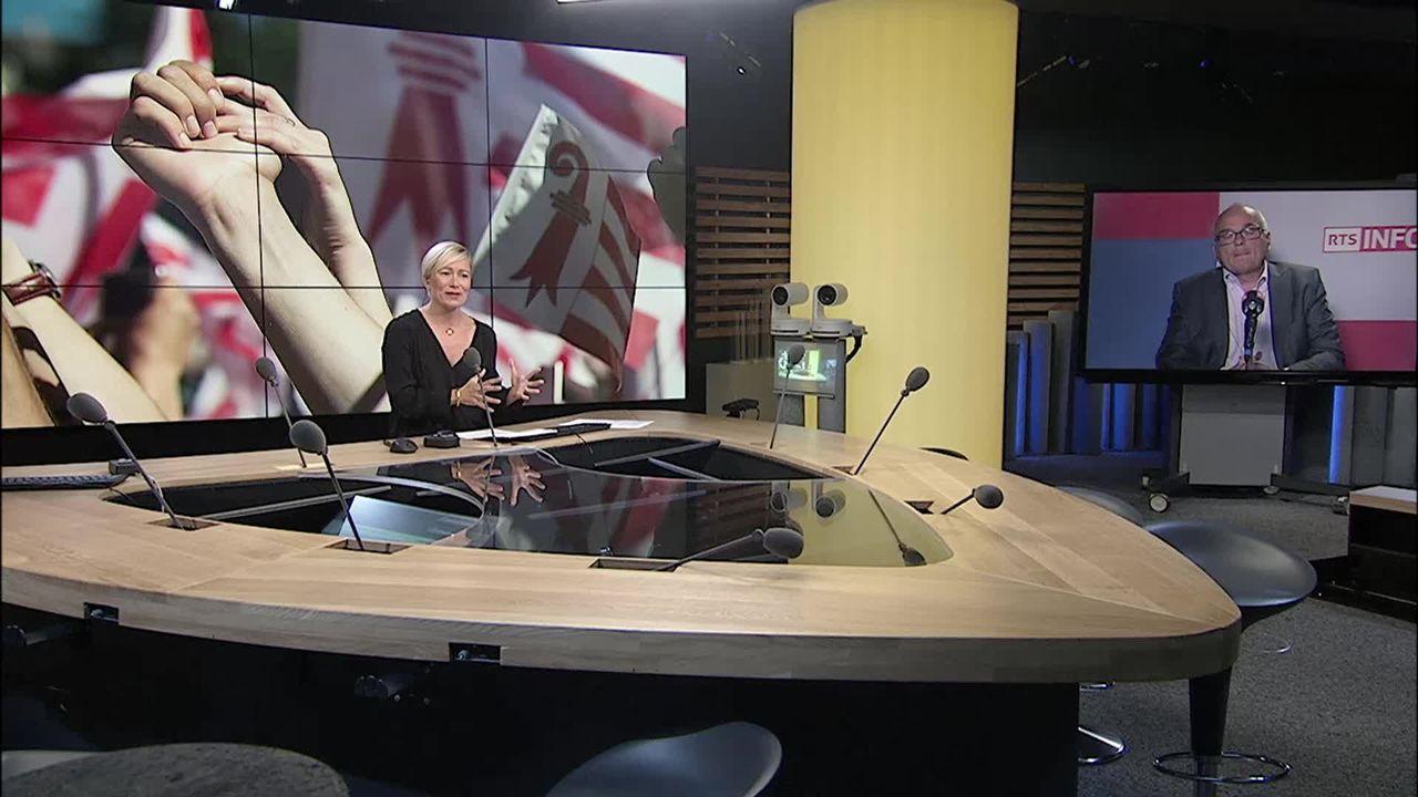 L'exécutif bernois pose ses exigences pour le deuxième vote sur Moutier: interview de Pierre Alain Schnegg [RTS]