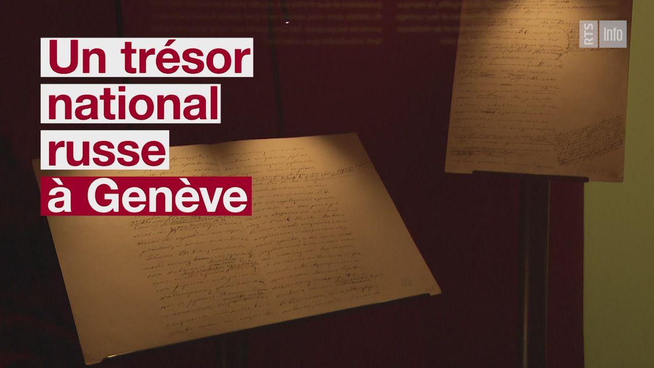 Un trésor national russe a Genève [RTS]