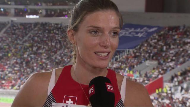 Relais 4x400m dames : interview des Suissesses après leur décevante performance [RTS]