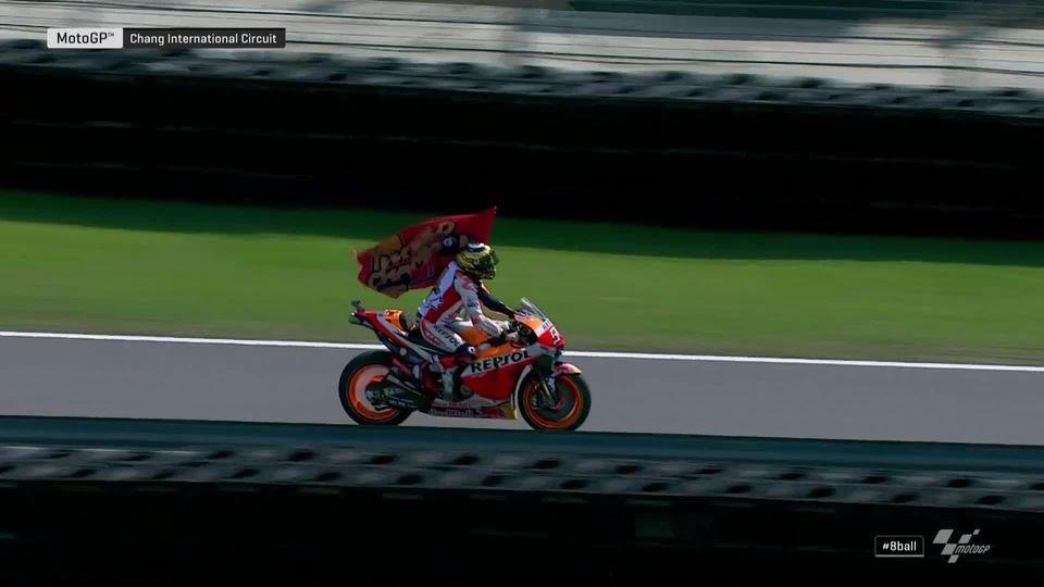 GP de Thaïlande (#15), MotoGP: victoire de Marquez (ESP) et remporte sa 6e couronne mondiale [RTS]