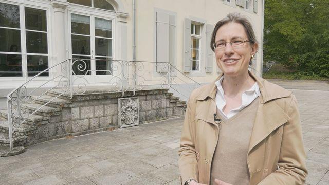 Béatrice Lovis, présidente de la section vaudoise de Patrimoine suisse [RTS]