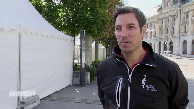 Morat - Fribourg: Olivier Gloor, nouveau directeur de la course [RTS]
