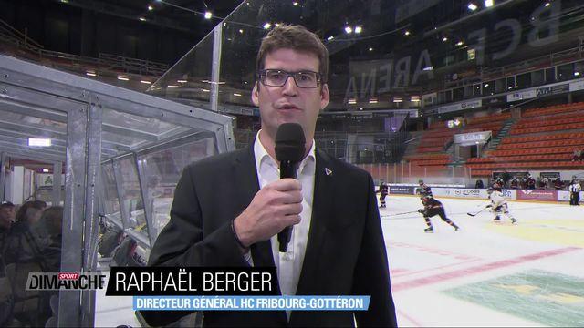 National League: éviction de Mark French à Fribourg [RTS]