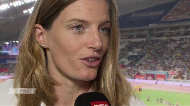 Athlétisme, Championnats du monde: retour sur la 4e place de Léa Sprunger [RTS]