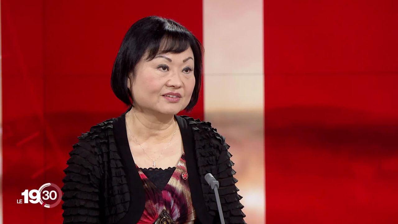 """""""La petite fille au Napalm"""" a fait le tour du monde. Kim Phuc a passé sa vie à promouvoir la paix dans le monde. Elle raconte. [RTS]"""