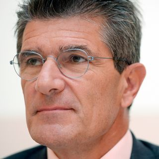 Patrick Odier, associé-gérant chez Lombard Odier à Genève. [Walter Bieri - Keystone]