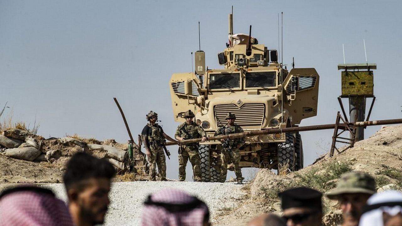 Les forces américaines en Syrie se retirent de la frontière turque. [Delil Souleiman - AFP]