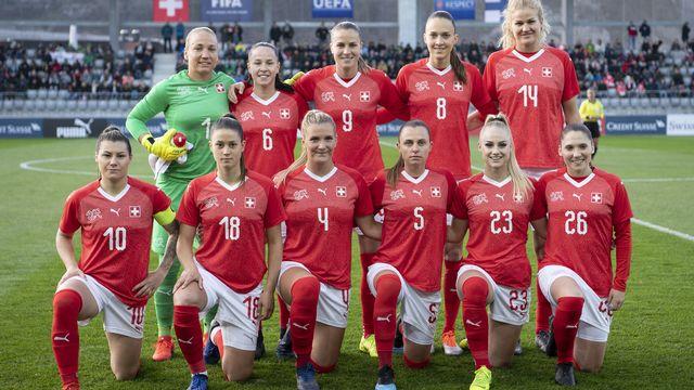 L'équipe nationale suisse de football. [Peter Schneider - Keystone]