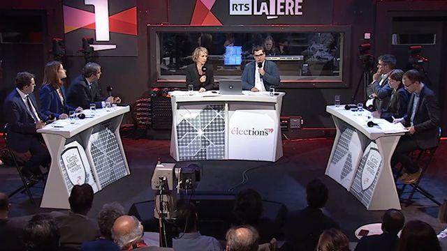 Elections fédérales: le grand débat des présidents de parti [RTS]
