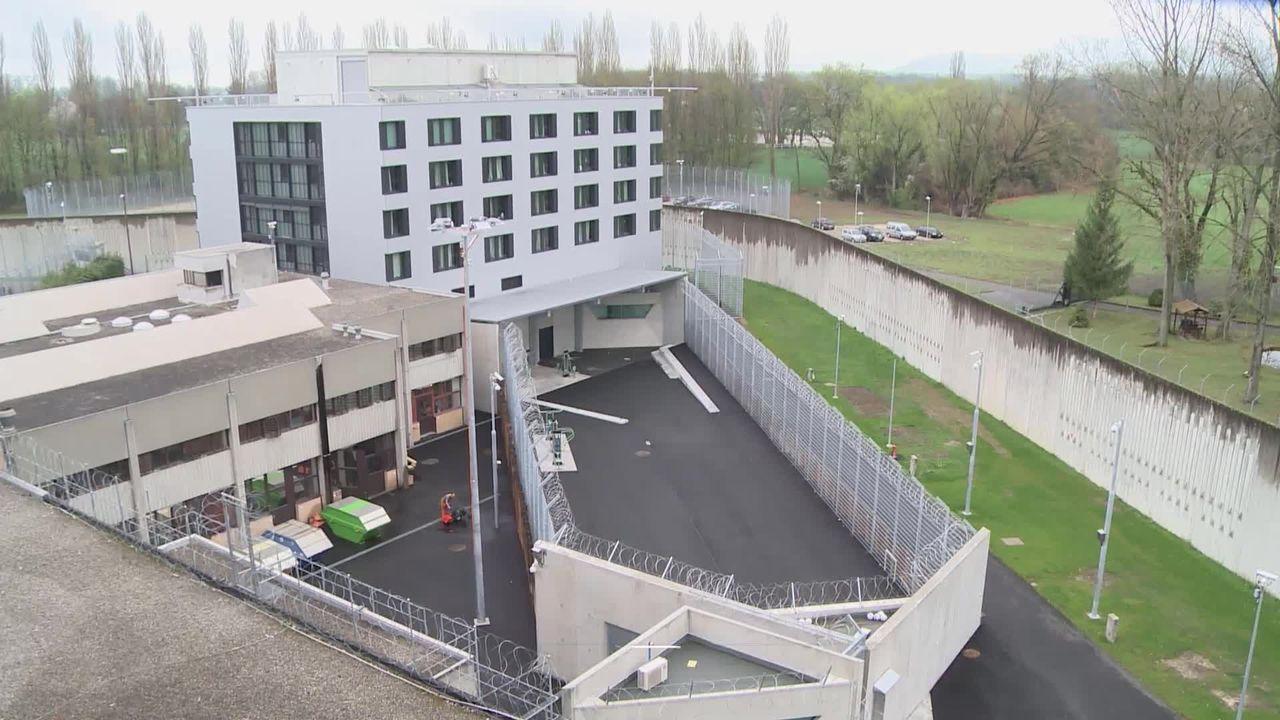 Les prisons genevoises, de Saint-Antoine à Champ-Dollon [RTS]