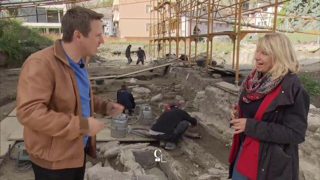 Entretien avec Caroline Brunetti, archéologue cantonale VS [RTS]