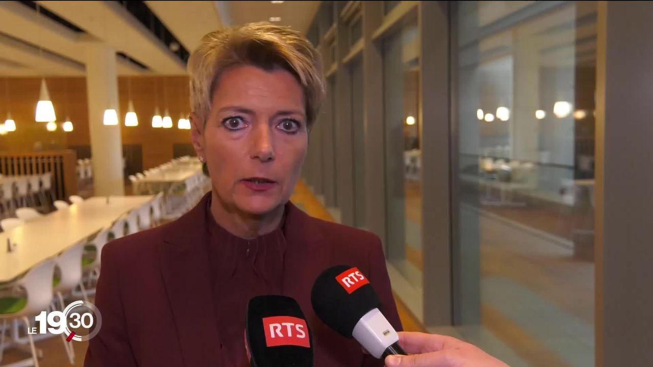 La Suisse n'adhère pas au plan européen de répartition des migrants discuté aujourd'hui à Luxembourg. [RTS]