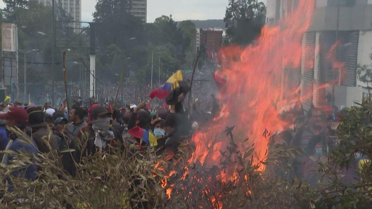 Affrontements à Quito [RTS]