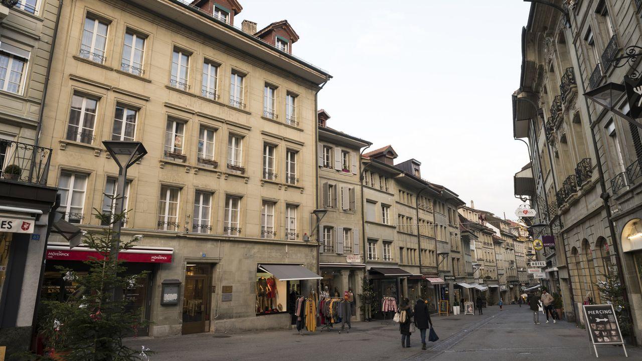 Fribourg pourra étendre les heures d'ouverture des commerces en Vieille-Ville. [Adrien Perritaz - Keystone]