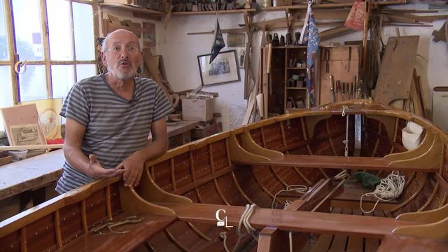 Les bateaux en bois : un patrimoine lémanique [RTS]