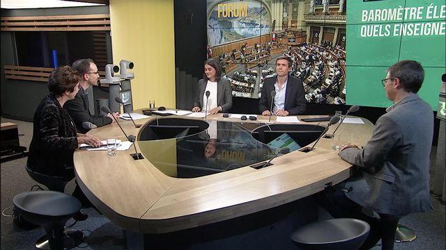 Le débat - Sondage Sotomo: dernière ligne droite? [RTS]