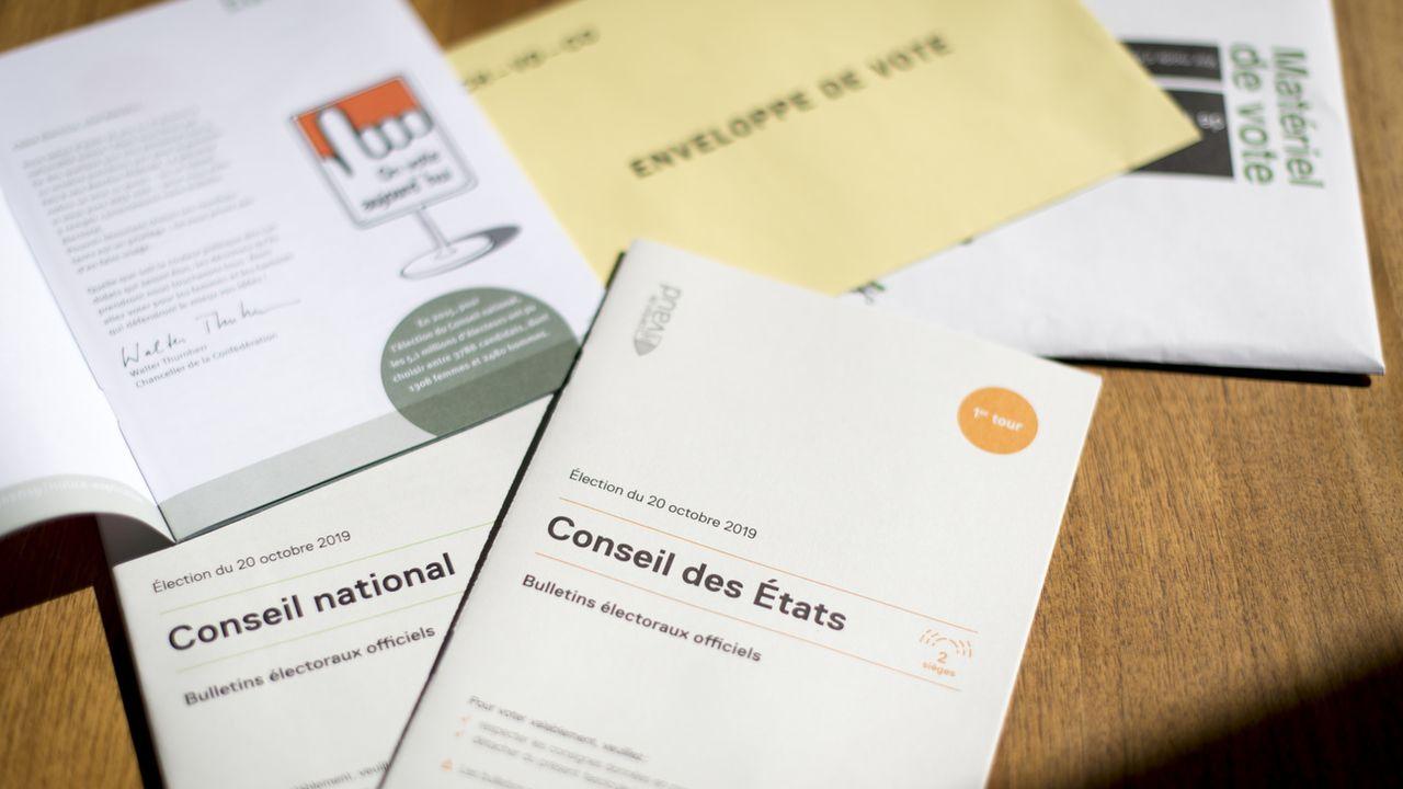 La capacité de mobilisation des partis sera décisive le 20 octobre. [Laurent Gillieron - Keystone]