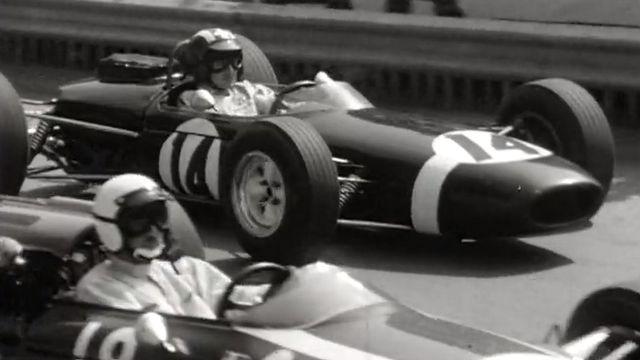 Jo Siffert à Monaco en 1966. [RTS]
