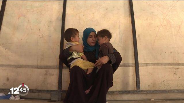 Au Kurdistan, inquiétude face à de possibles évasions de djihadistes, et le sort de milliers d'orphelins est en jeu. [RTS]