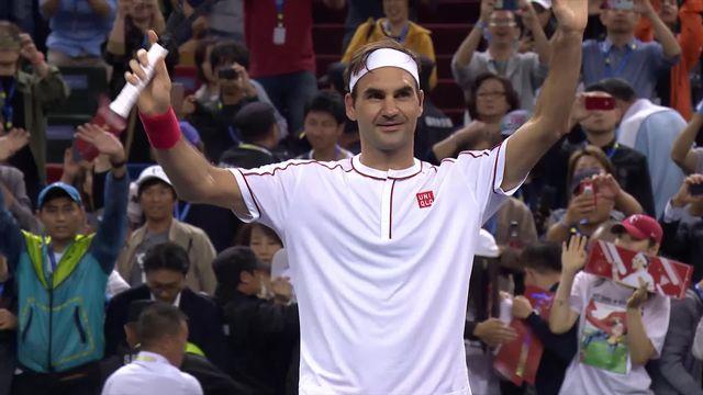 1-8, D.Goffin (BEL) – R.Federer (SUI) (6-7, 4-6): Federer monte en puissance et sort Goffin en deux manches [RTS]
