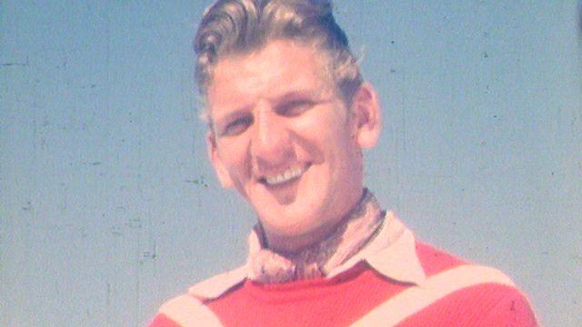 Georges Schneider à Aspen en 1950. [RTS]
